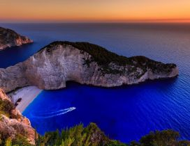 Navagio beach from Zakynthos - Amazing landscape