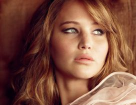 Actress Jennifer Lawrence - HD wallpaper