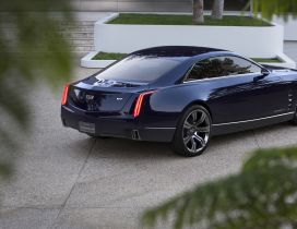 Stunning blue Cadillac Elmiraj Rear