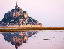 Mont Saint Michel Castle - Beautiful building