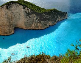 Zakynthos island - Relaxing beach and a superb landscape