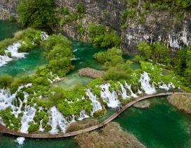 Tropical green river - Amazing paradise landscape