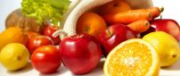 Delicious fruits and vegetables - HD wallpaper