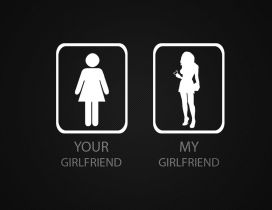 Perfect girlfriend - Funny HD wallpaper