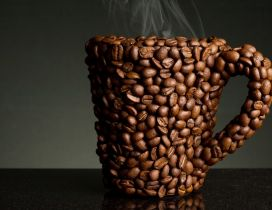 Perfect cup of coffee - HD wallpaper