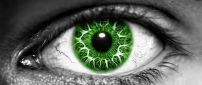 Big green eye - Digital art - HD miscellaneous wallpaper