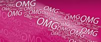 Millions of OMG - pink funny wallpaper