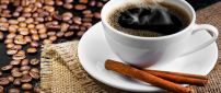 Wake-up every day with a delicious coffee with cinnamon