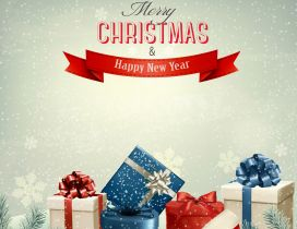 Merry Christmas and a Happy New Year - presents for all