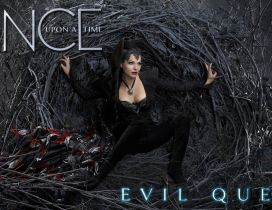 Evil queen from serial Once upon a time - HD wallpaper