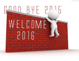 Good bye 2015 welcome 2016 - Happy New Year