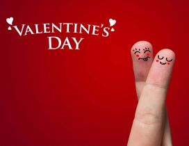 Happy fingers - Valentine;s Day 2016