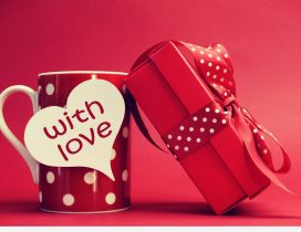 Special present with love - Happy Valentine's Day
