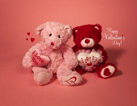 I love you my teddy bear - Happy Valentine's Day