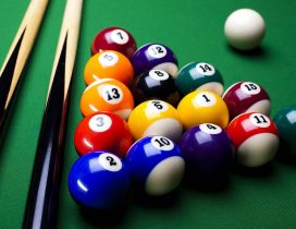 Shiny billiard piece - Wonderful strategy game