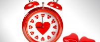 The clock for love - funny present for Valentine's Day