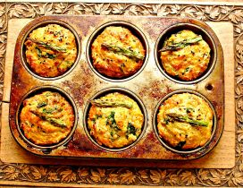 Delicious vegetable muffins - HD food wallpaper