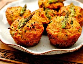 Good morning - eat healthy some vegetable muffins