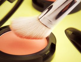 Nature powder blush - make-up in the morning