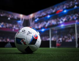 Soccer ball from Adidas - The official sponsor of UEFA 2016