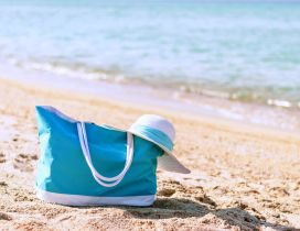 Blue bag - Happy weekend at the beach
