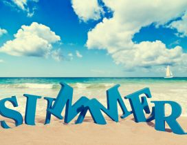 Summer time - perfect holiday at the seaside