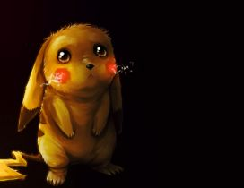 Sad pokemon - Puppy eyes