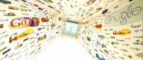 Millions of brands on the walls - HD wallpaper
