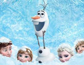 Disney animation movie - Frozen and Elsa