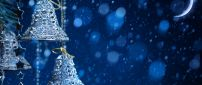 Blue Christmas night - Wonderful Winter Holiday