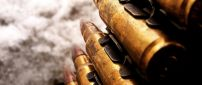 Macro bullets of war - HD wallpaper
