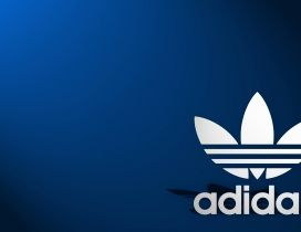 Blue wallpaper - Adidas sport brand - HD wallpaper
