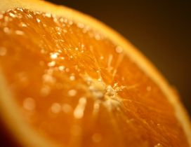 Blurry orange fruit - HD Macro wallpaper