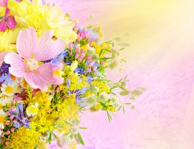 Spring flower perfume - Wonderful bouquet