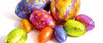 Happy Easter Holiday - Chocolate eggs for children