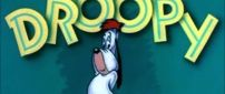 Funny Cartoon animation dog - Droopy character
