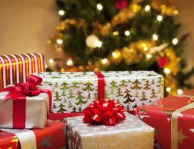 Presents for all kids - Santa Claus is coming tonight