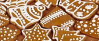 Sweet Christmas cakes - Cinnamon candies