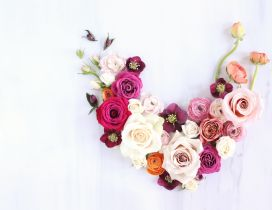 Wonderful flowers for a special person - Valentines Day