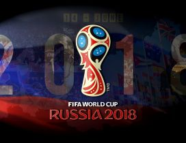 Fifa World Cup Russia 2018 official golden cup