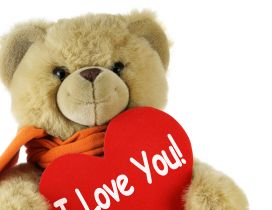 I love you - Teddy bear Valentine's Day
