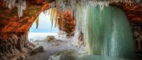 Our nature is wonderful - Frozen Earth cave - winter season