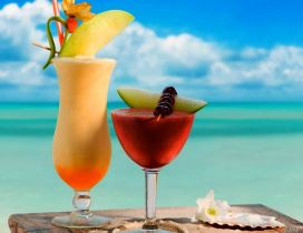 Choose your favourite summer drink - Refresh your day