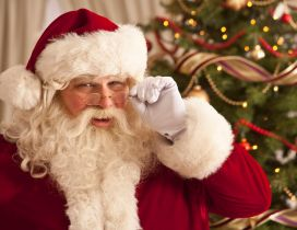 True Santa Claus is watching at you - Be good kid