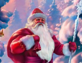 Santa Claus in Laponia - Christmas Winter holiday