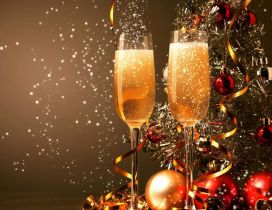 Champagne for a golden year to be - Happy New Year 2020